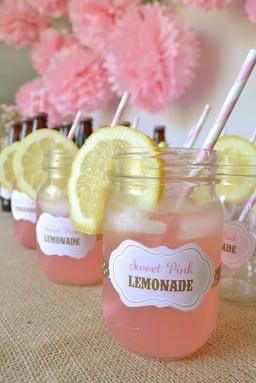 pastel-wedding-inspiration-pink-lemonade-in-mason-jars