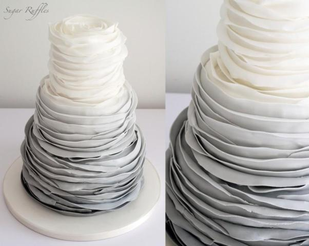 grey-ombre-wedding-cake